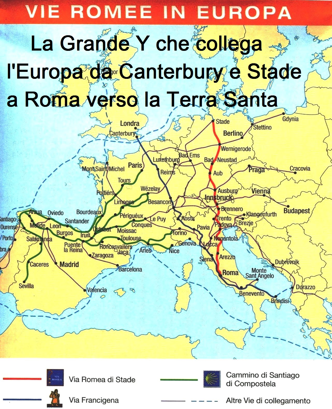 Documenti e Mappe Via Romea Germanica - Viaromeagermanica
