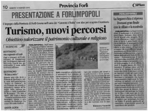 2016-03-12-ilcorriere-forlimpopoli-cammini