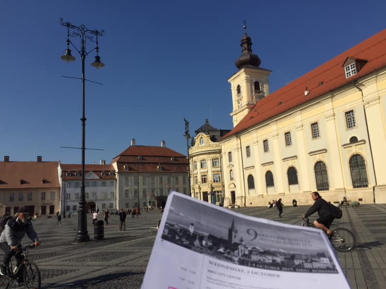 IN SIBIU (ROMANIA) FOR EUROPEAN RECOGNITION
