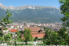 14-Innsbruck dalla terrazza del Tiroler Kaiserjagerm Museum