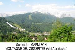 3-veduta del Zugspitze m. 2962 e trampolino Olimpico