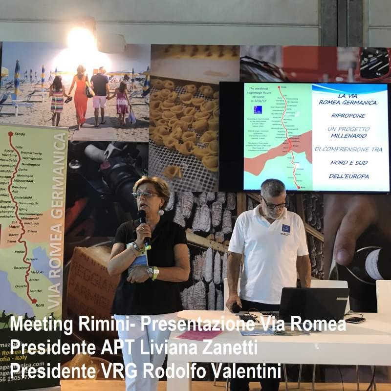 AL MEETING DI RIMINI 2017 LA VIA ROMEA GERMANICA ...